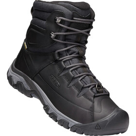 Keen Targhee Lace High Saappaat Miehet, black/raven
